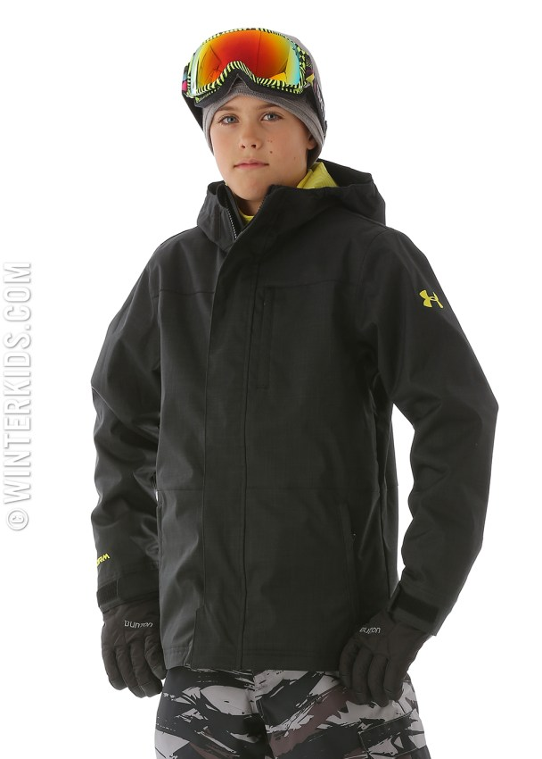 under armor boys ski jacket