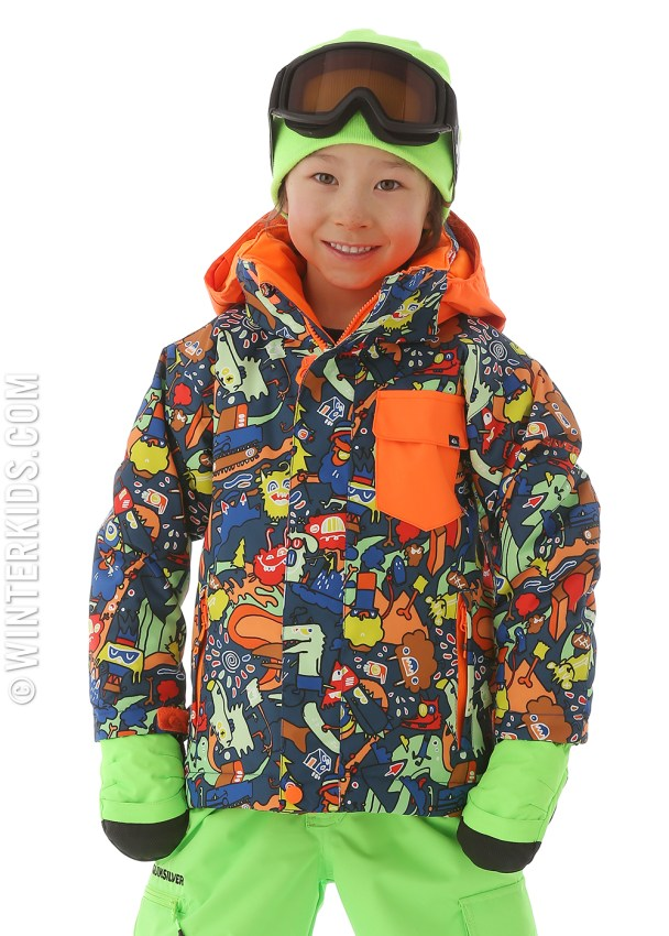 Quiksilver boys ski jacket