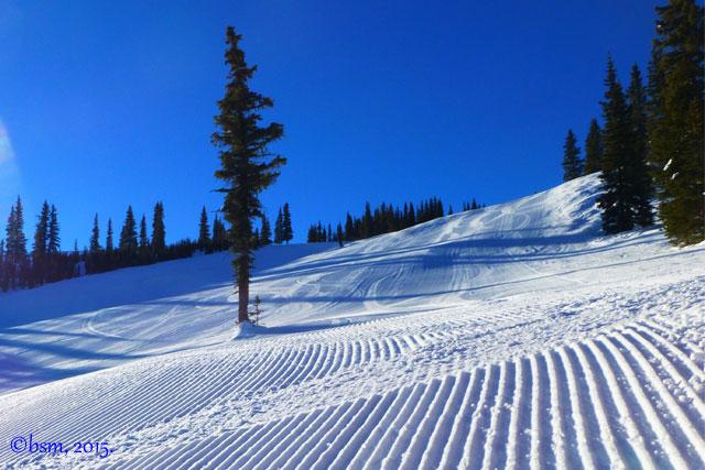 corduroy first tracks snowmass