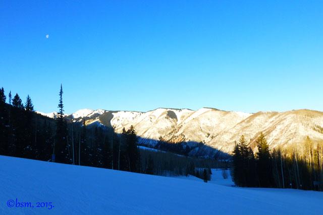 earliest light snowmass