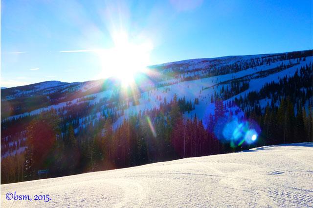 morning light snowmass