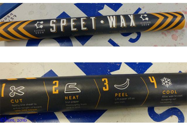 speet wax
