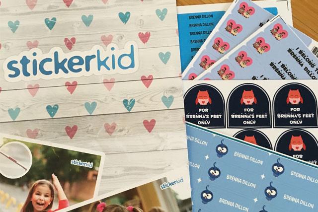 sticker kid labels