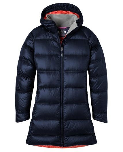 women's hometown down hooded parka
