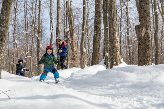 smugglers notch family skiing