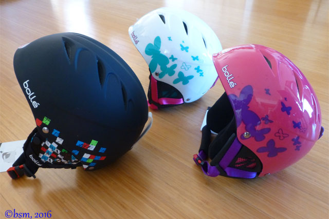bolle junior ski helmets