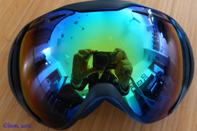 native upslope goggle