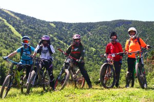 sugarbush bike park group