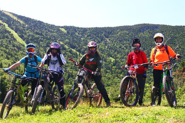 sugarbush bike park group
