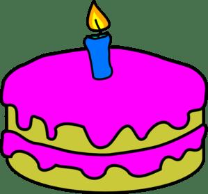 one year cake