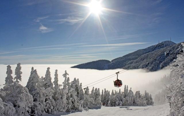 Stowe mountain resort winter