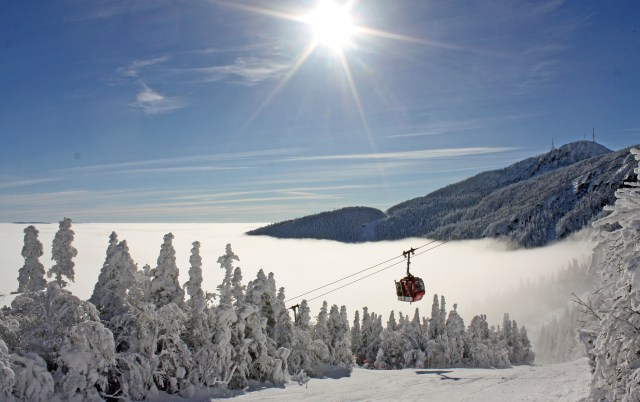 Stowe mountain resort winter