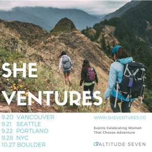 Venture to SHE VENTURES (Event Ticket Giveaway)