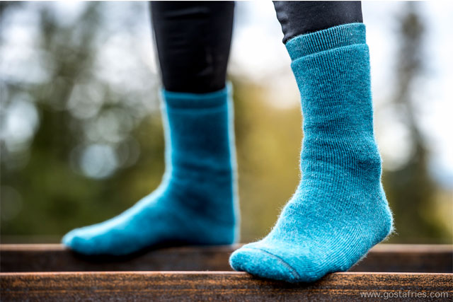wool power socks 400