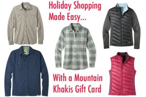Holiday Gift Guide: Good Stuff from Mountain Khakis (Giveaway)