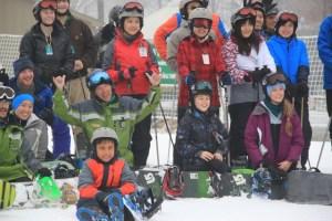 world's largest ski snowboard lesson