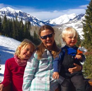 family skiing eryn kaiser