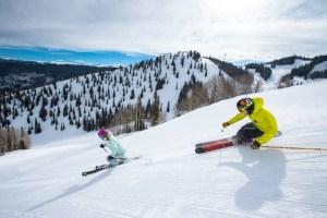 groomed aspen skiing