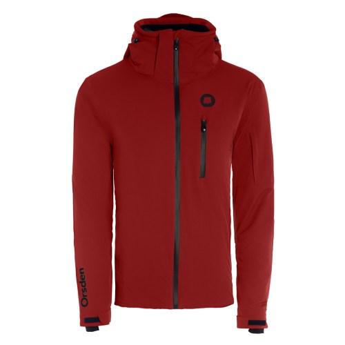 orsden slope jacket mens redwood