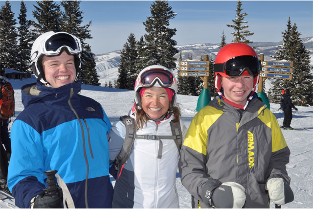 family skiing beaver creek colorado