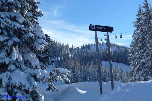seibert's aspen mountain snow