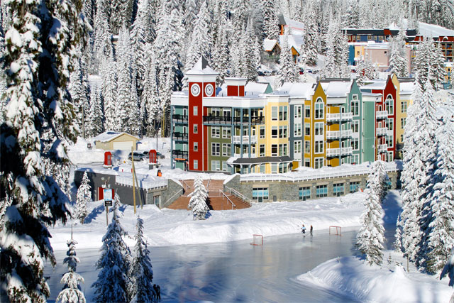 An insider 39 s guide to family skiing at silver star for Silver mountain cabins