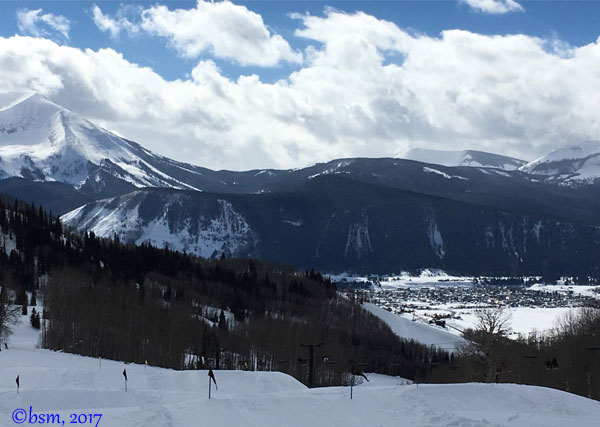 crested butte ski and town