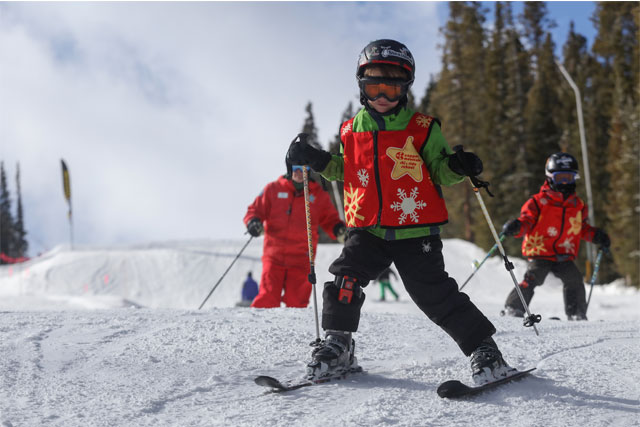 copper mountain ski school