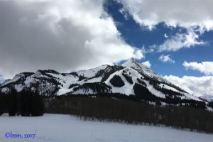 crested butte panorama