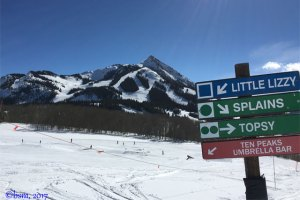 Ten peaks area at crested butte