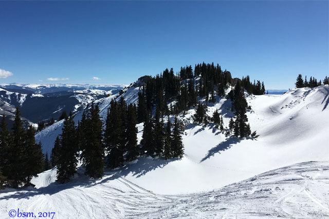 top of high lift crested butte