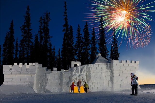 keystone snow fort