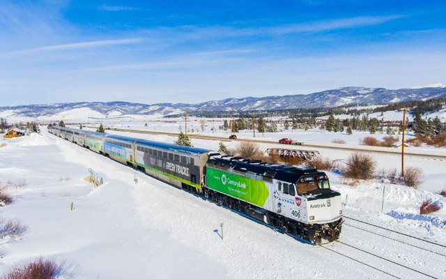 Two College Students Ride the Ski Train to Winter Park and Find it Good
