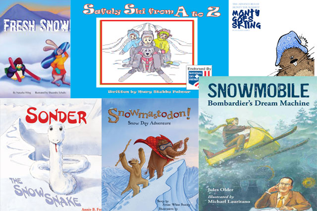 best kids books about skiing