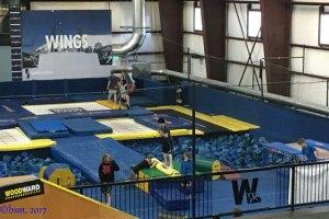 woodward copper barn trampolines
