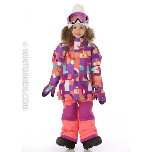 burton minishred aubrey jacket for little girls