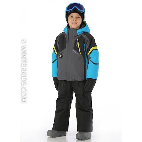 Obermeyer Patrol Jacket for Little Boys in Polar Blue