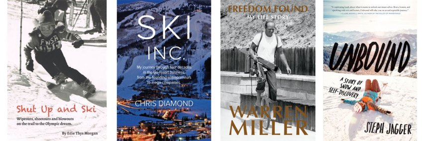 books about skiing for adults