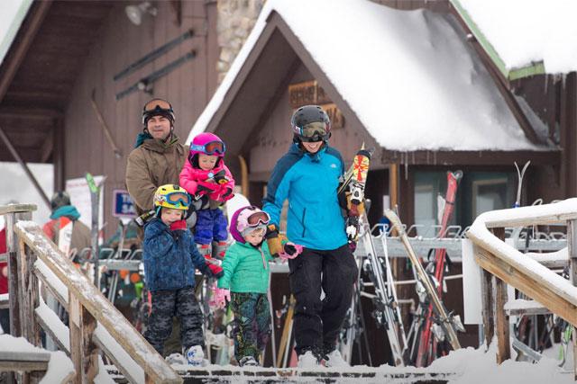 ski showdown Montana lodge