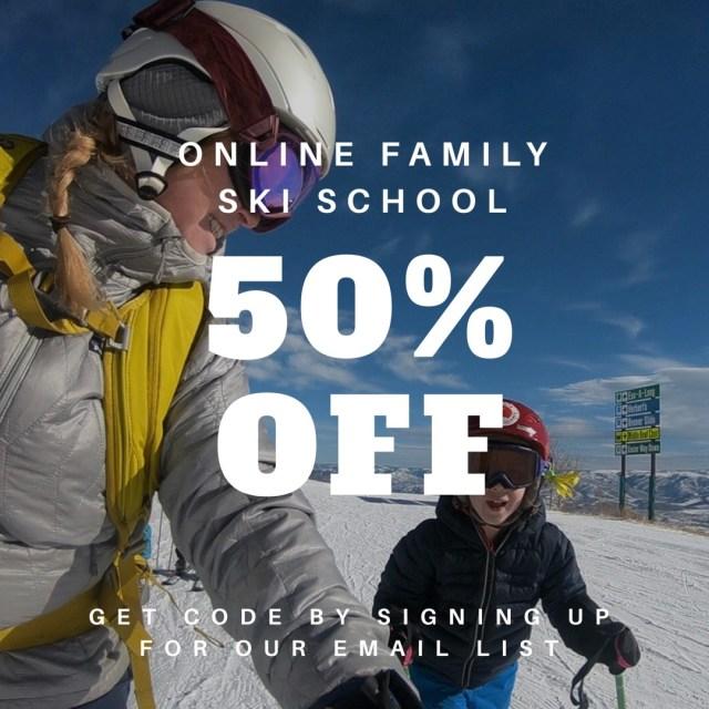 online family ski school discount