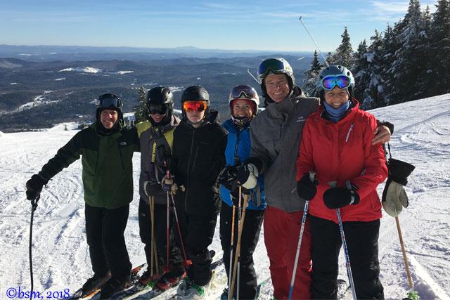 lummis family ski okemo mountain resort