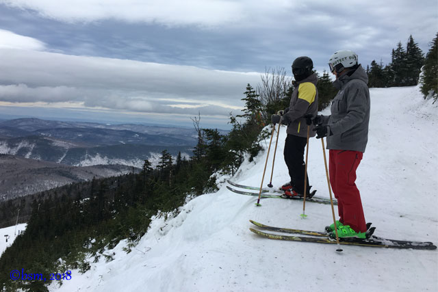 moguls skiing at killington vermont