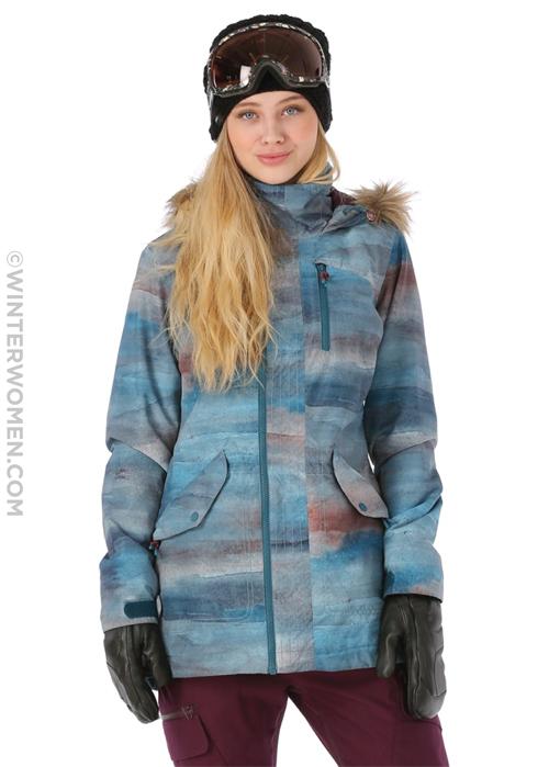 The Hazel Snowboard Jacket from Burton. The longer lines work for skiing  women e479e4e33
