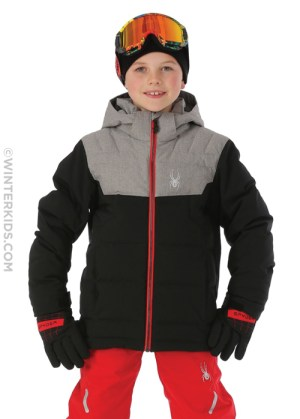 spyder boys clutch down jacket