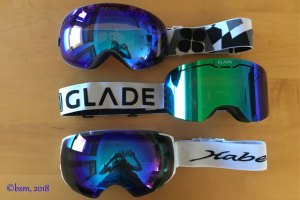 Best New Ski Goggles from SunGod, Glade Optics and HaberVision