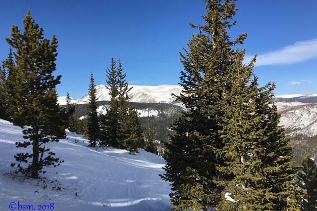 eldora's western ridge skiing