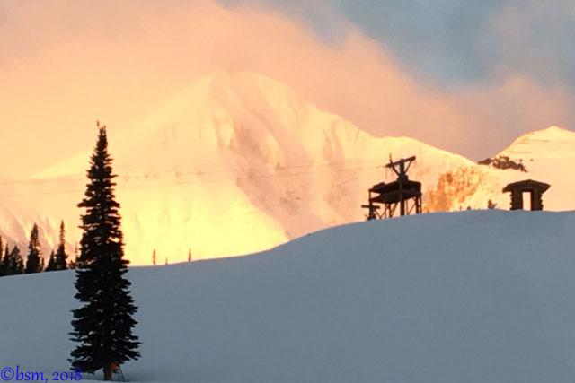 sunrise big sky montana
