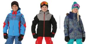 Ski Fashion: Kids' Ski Jackets in Classic Colors, Fun Prints From WinterKids.com (Giveaway)