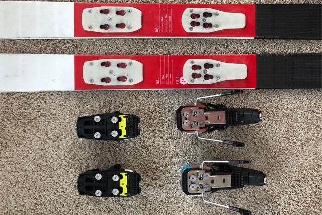 crossover-ski-binding-plate-system