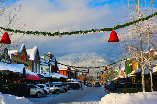 downtown whitefish montana